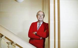 Frédéric Mitterrand chez Robert Laffont le 20 novembre 2013.