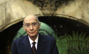 Jose Saramago à Madrid, novembre 2009