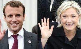 Emmanuel Macron et Marine Le Pen sont les deux candidats au second tour de l'élection présidentielle 2017.