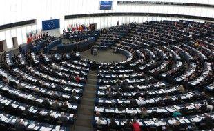 Le Parlement Européen, le 10 décembre 2013.