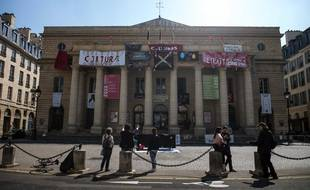 Le théâtre de l'Odéon le 19 avril 2021