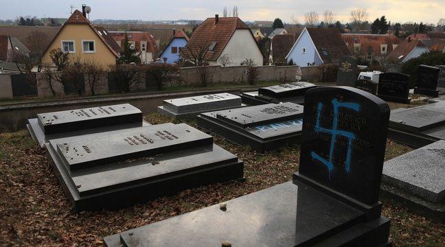 La profanation du cimetière juif en Alsace « ça me dégoûte et m'inquiète »