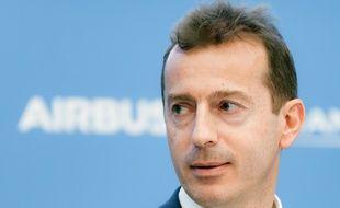 Guillaume Faury est l'actuel patron de la branche d'aviation commerciale d'Airbus.