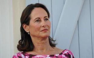 Ségolène Royal, nouvelle ministre de l'Ecologie, le 22 août 2013 à La Rochelle