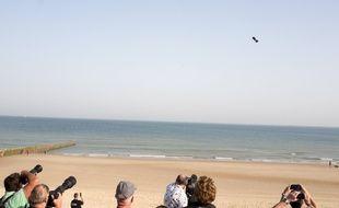 Franky Zapata a survolé, jeudi 25 juillet 2019, la Manche en Flyboard mais n'a pas réussi à la traverser.