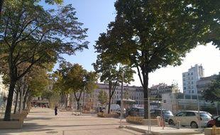La Plaine à Marseille, où une première tranche des travaux de la place a été livrée fin août 2019.