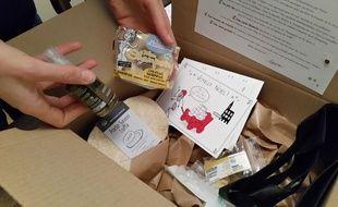 Strasbourg, le 2 décembre 2015: Une jeune entrepreneuse propose des box écologiques, baptisées Ozetik