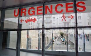 Illustration des urgences d'un hôpital.