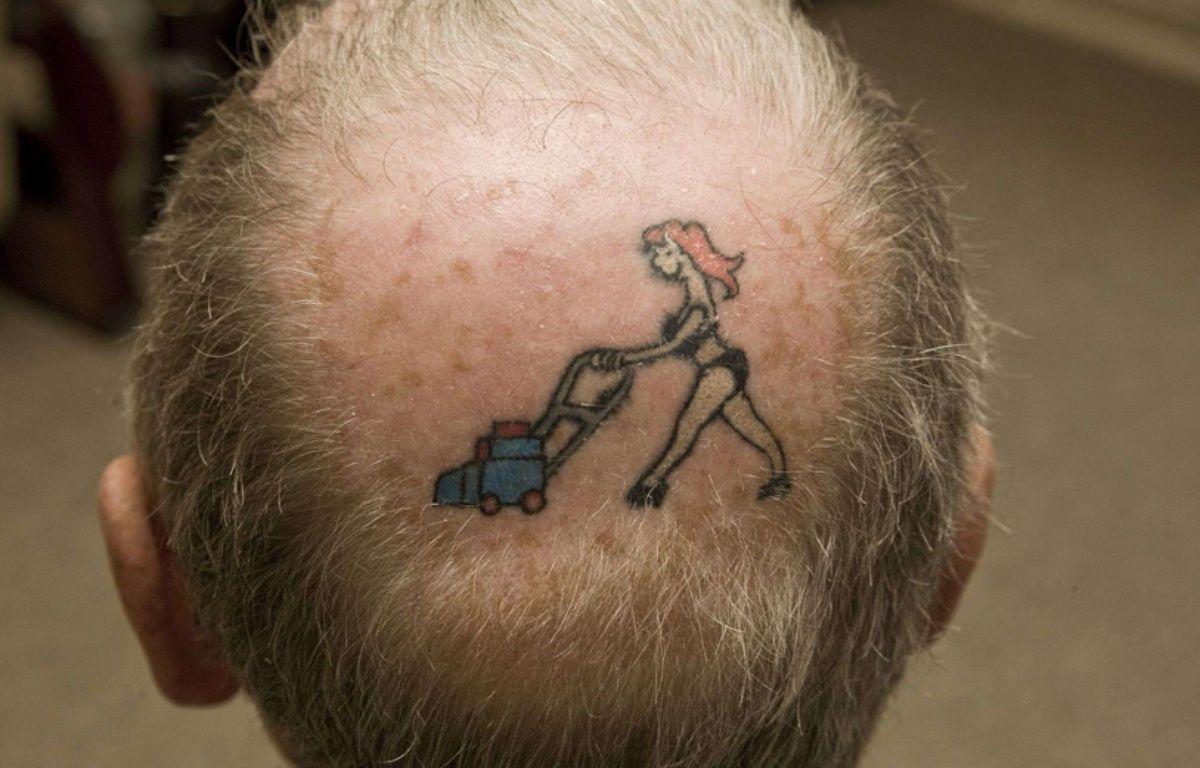 Illustration d'un tatouage. –  South Bedfordshire News/REX/SIPA