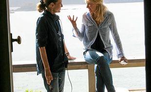 La Française Anne Fontaine (à g.) dirige Naomi Watts.