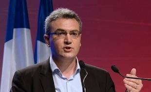 L'eurodéputé Aymeric Chauprade le 18 mai 2014 à Paris