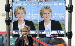Nadine Morano part favorite au premier tour des législatives dans la cinquième circonscription de Meurthe-et-Moselle, à Toul, mais la présence du Front national dans une triangulaire au second tour pourrait lui être fatale.