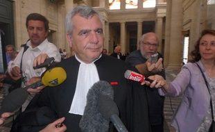 Thierry Herzog, avocat de Nicolas Sarkozy.
