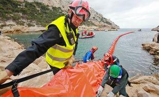 Une trentaine de pompiers, dont une dizaine de formateurs, ont participé à l'exercice de Morgiou.