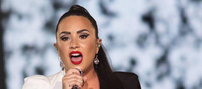 La chanteuse Demi Lovato