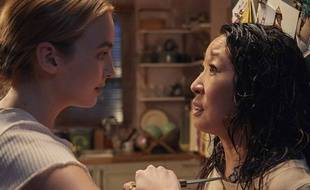 Jodie Comer et Sandra Oh, face-à-face géniale et drôle dans la série «Killing Eve» présentée à CanneSeries