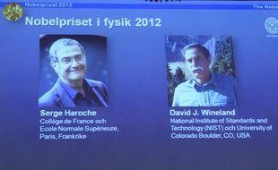 Le prix Nobel de physique 2012 a été attribué au Français Serge Haroche et à l'Américain David Wineland.
