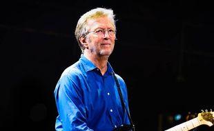 Le chanteur et guitariste Eric Clapton