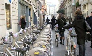 Dimanche, le vélib' parisien fête ses sept ans.