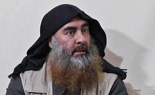 Abou Bakr al-Baghdadi, le chef du groupe terroriste Daesh, prétendument début 2019. (archives)