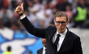 L'entraîneur du PSG Laurent Blanc, le 21 mai 2016, au Stade de France.
