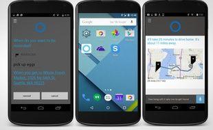 Un téléphone o sous Android.