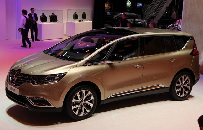mondial de l auto 2014 nouveau renault espace. Black Bedroom Furniture Sets. Home Design Ideas