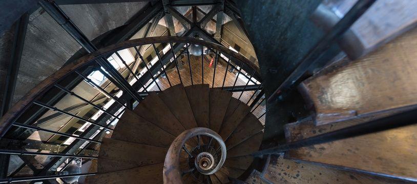 Illustration . Escaliers.