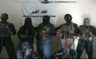 Capture d'image réalisée en octobre 2010 d'une vidéo qui montrerait des membres de la secte islamiste Boko Haram au Nigeria