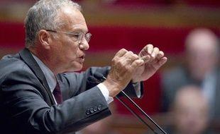 Le rapporteur de la Commission des finances, Gilles Carrez, le 6 septembre 2011.