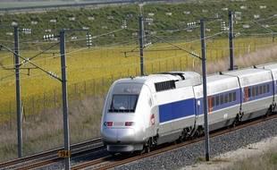 La ligne TGV Est reliant Paris à Strasbourg.