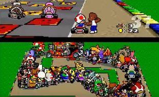 Un youtubeur a imaginé une course Mario Kart avec plus de 100 participants.