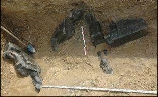 Une équipe d'archéologues allemands avait déjà découvert dix-sept statues de la déesse Sekhmet, dans le temple d'Amenhotep III à Louxor.