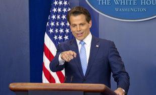 Le nouveau directeur de la communication de la Maison Blanche, Anthony Scaramucci, le 21 juillet 2017.