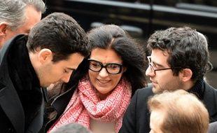 Françoise Bettencourt-Meyers et ses deux fils.