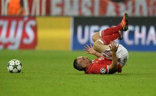 Franck Ribéry lors d'un match du Bayern Munich le 13 septembre 2016.