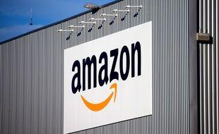 Le logo de l'entreprise Amazon