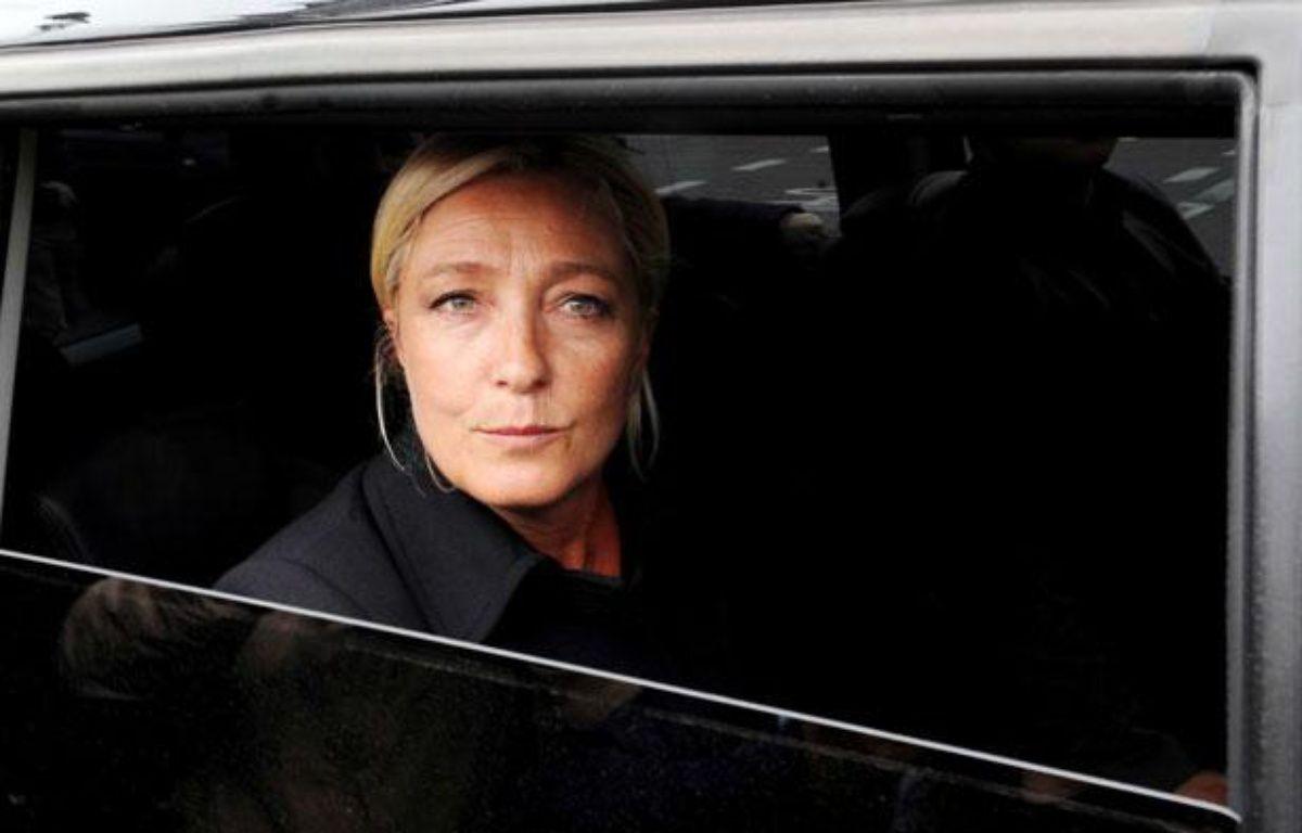 Marine Le Pen, présidente du Front national, le 6 septembre 2011 à Paris. – CHAMUSSY/SIPA