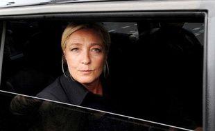 Marine Le Pen, présidente du Front national, le 6 septembre 2011 à Paris.