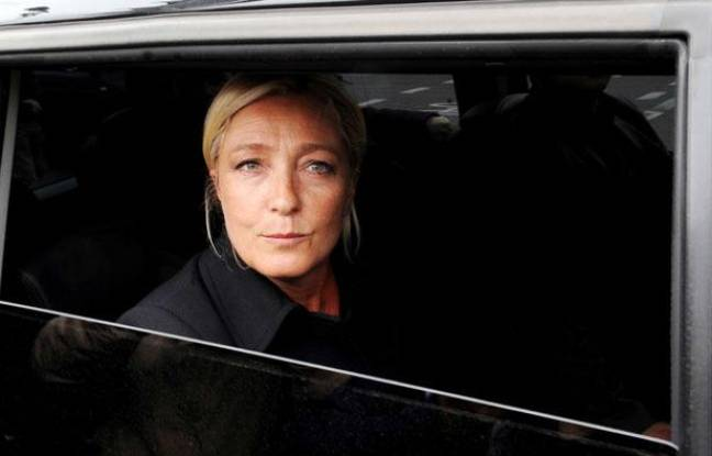 Marine Le Pen, présidente du Front national, le 6 septembre 2011 à Paris.