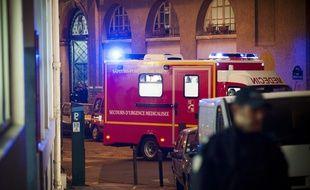 Le décès a été constaté une demi-heure après l'arrivée des pompiers.  (Illustration)