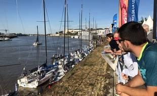Le départ de la Solitaire du Figaro, dimanche à Nantes