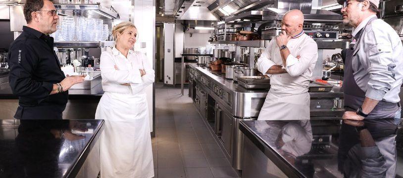 Les quatre membres du jury de « Top Chef » sont-ils coachs mentaux ou chefs de brigade ?