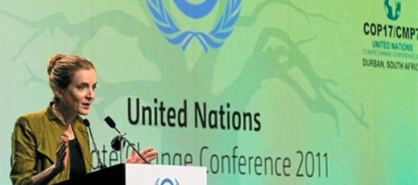 Nathalie Kosciuko-Morizet était à Durban (Afrique du Sud) le 8 décembre.