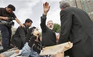 Moussavi estime que son accès à la population est limité par les autorités.