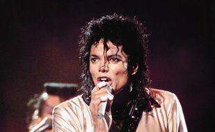 Le chanteur Michael Jackson