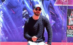 Chris Evans a 38 ans !