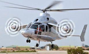 L'hélicoptère hybride à grande vitesse X3, nouveau démonstrateur du fabricant d'hélicoptères européen Eurocopter (EADS), achève une tournée d'un mois aux Etats-Unis destinée à séduire le marché civil et militaire américain, le plus important au monde.