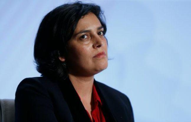 La ministre du Travail Myriam El Khomri le 3 février 2016 à Paris