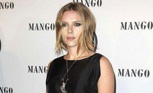 L'actrice Scarlett Johansson lors des Mango Fashion Awards, à Barcelone, le 20 octobre 2010.